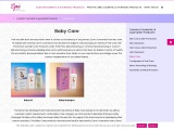 Custom Hair and Skin Care Products for Baby