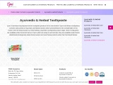 Private Label Ayurvedic & Herbal Toothpaste Manufacturer in India
