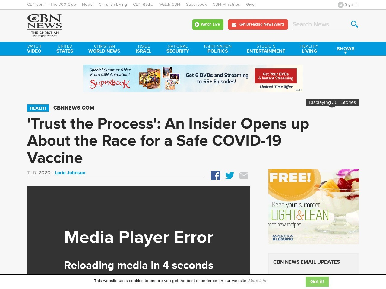 'Trust the Process': An Insider Opens up About the Race for a Safe COVID-19 Vaccine