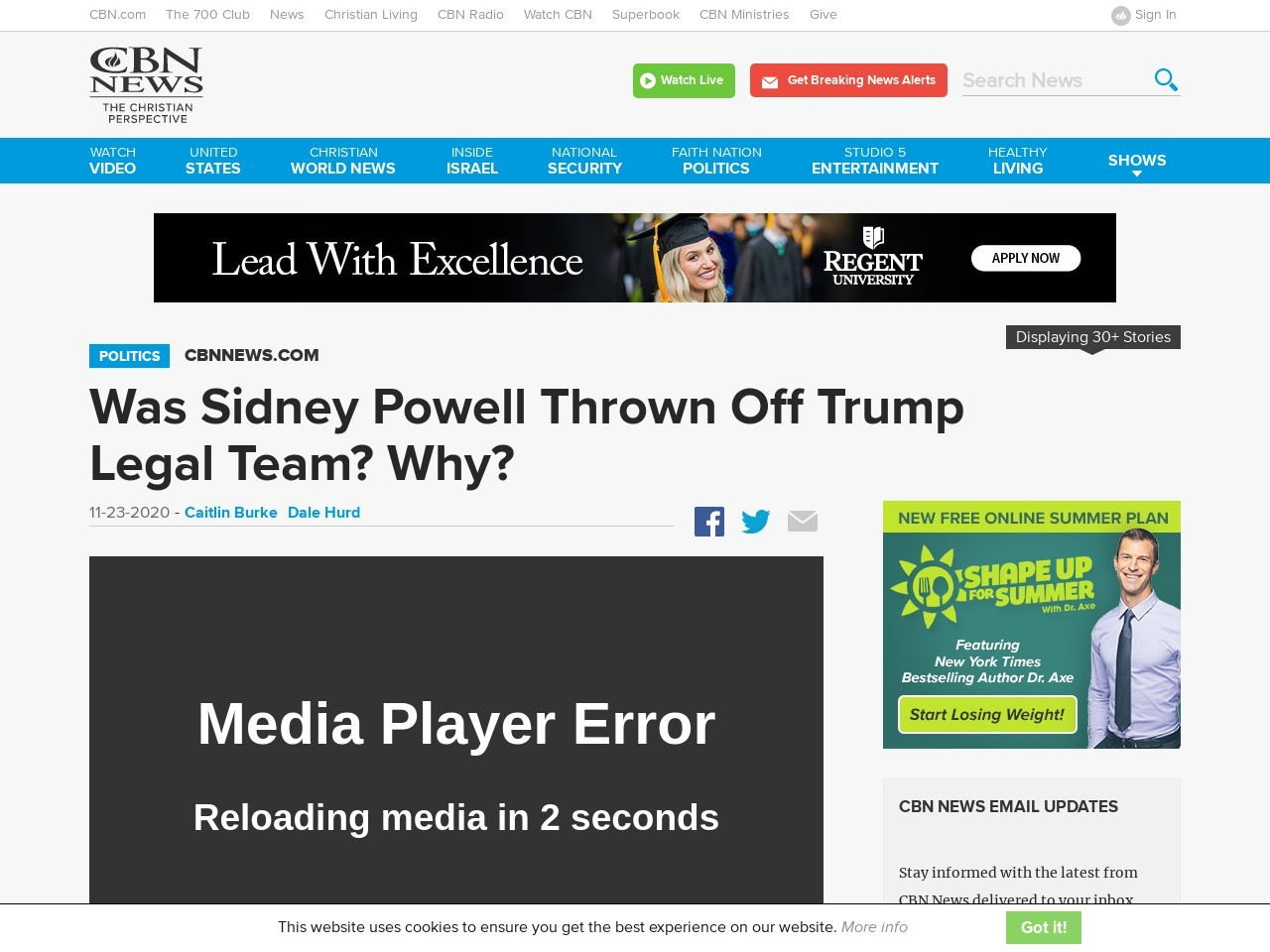 Was Sidney Powell Thrown Off Trump Legal Team? Why?