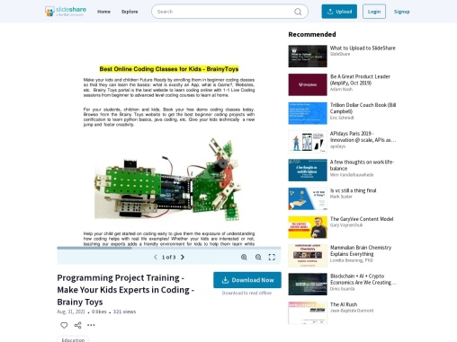 Computer Coding Project for Kids & Students – Online Training Programming Project – Coding Classes a