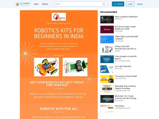 Buy Robotic Kits for College Students Online – Brainy Toys – Robotic Kits Manufacturers & Suppliers