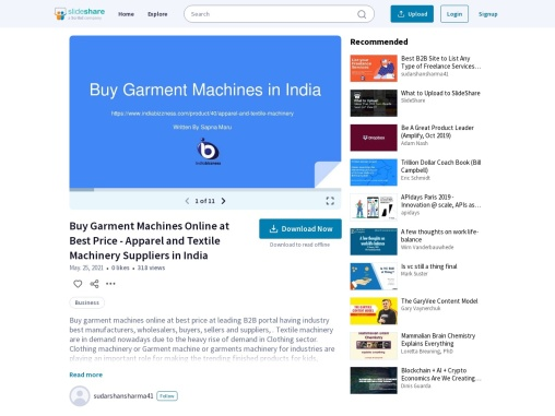 Garment Machines Buyers Sellers Suppliers Wholesaler in India – Buy Apparel Textile Machinery Online