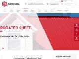 Corrugated Galvanized Roof | CGI Roofing Sheet Design