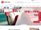 PPGI Corrugated Sheet | Prepainted Steel Profile Sheet