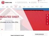 Steel Sandwich Panel | PPGI Sandwich Panel