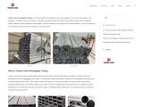 Carbon Steel Rectangular Tubing