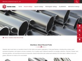 Stainless Steel Round Tube | Full Size SS Round Pipe