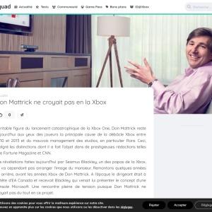 Don Mattrick ne croyait pas en la Xbox - XboxSquad.fr