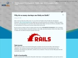 Why do so many startups use Ruby on Rails?