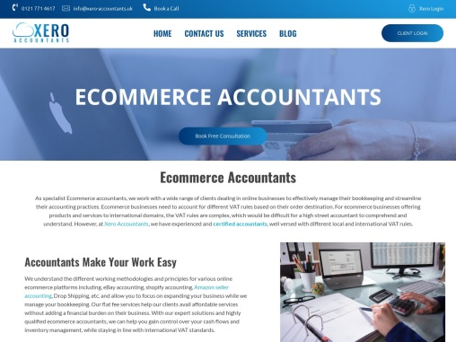 Ecommerce accountants in Birmingham