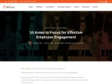 10 Areas to Focus for Effective Employee Engagement