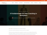 6 Fundamentals for Peer Coaching in Workplace
