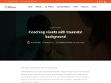 Coaching clients with traumatic background