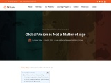 Global Vision is Not a Matter of Age