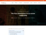 The Five Dimensions of Co-Active Leadership
