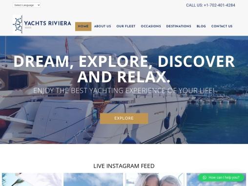 Boat Rental Rivera Maya – Yachts Riviera Maya
