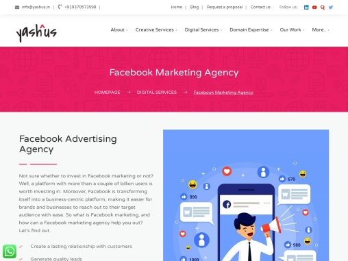 Facebook Marketing Services in Pune