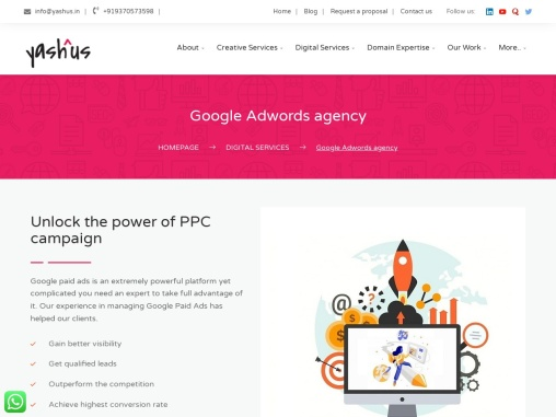 Google Adwords Services in Pune
