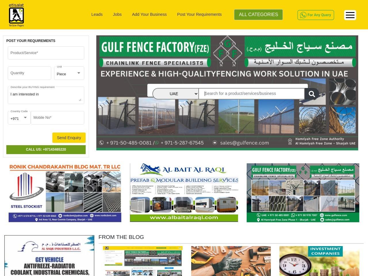 Elevator Companies & lift companies in UAE
