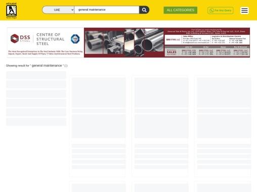 General Maintenance Companies in UAE