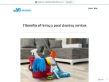 Benefits of hiring a good cleaning Services