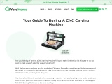 Your Guide To Buying A CNC Carving Machine