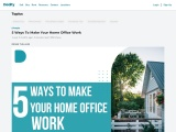 Ways To Make Your Home Office Work