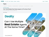 Can I Use Multiple Real Estate Agents At The Same Time?