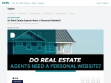 Do Real Estate Agents Need a Personal Website?