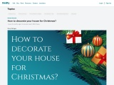 How to decorate your house for Christmas?