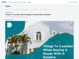 Things To Consider When Buying A House With A Relative
