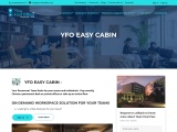 Easy Cabin | Pay Monthly | Easy On Demand Solution | Yourfirstoffice
