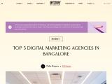 Top 5 Digital Marketing Company in Bangalore