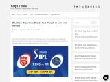 IPL 2021: Rajasthan Royals beat Punjab in last-over thriller