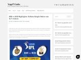 KKR vs RCB Highlights: Kolkata Knight Riders win by 9 wickets