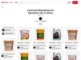 Lubricant manufacturers in africa