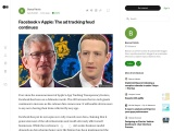 Facebook v Apple: The ad tracking feud continues