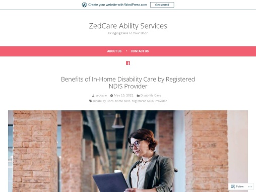 Benefits of In-Home Disability Care by Registered NDIS Provider