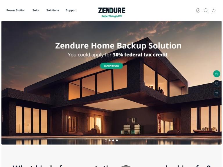 Zendure screenshot