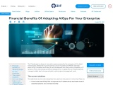 Financial Benefits Of Adopting AIOps For Your Enterprise | ZIF.AI