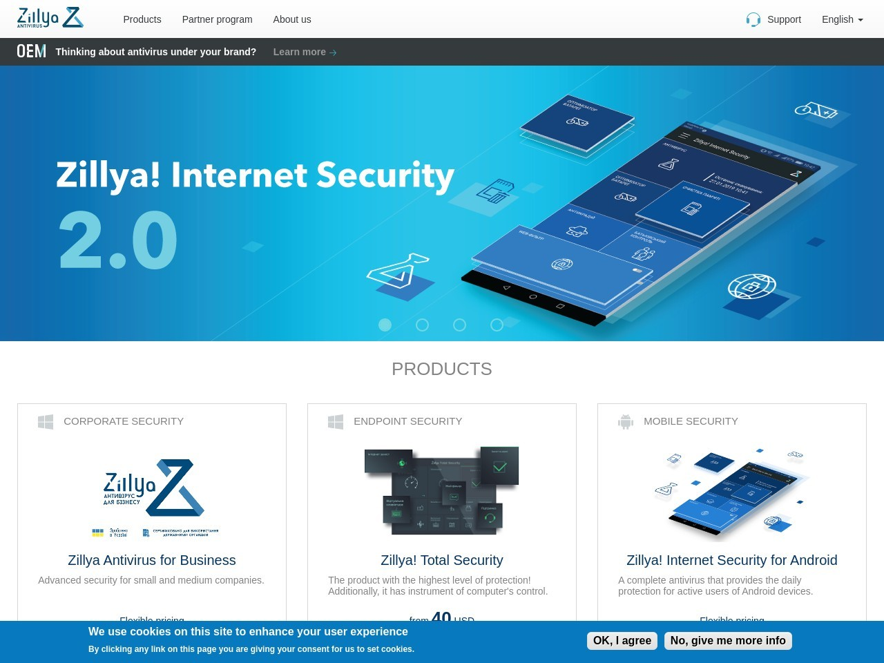 Zillya.com Zillya! Internet Security 1PC/1year Coupon