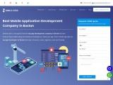 Mobile App Development Company in Boston |  App Developers in Boston