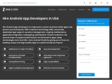 Hire Android App Developers In USA, UK, CA | ZimbleCode