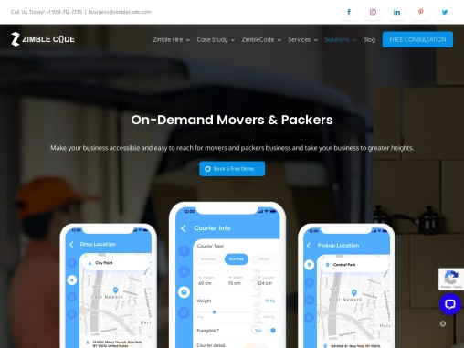 Packers and Movers App Development Company in New york USA