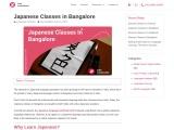 Japanese classes Bangalore – Zing Languages