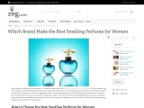 Best Smelling Perfume for Women