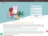 Get examination preparation tips and tricks