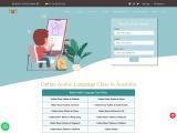 Book Online Arabic Language Class In Australia