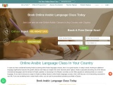 Book Online Arabic Language Class Today